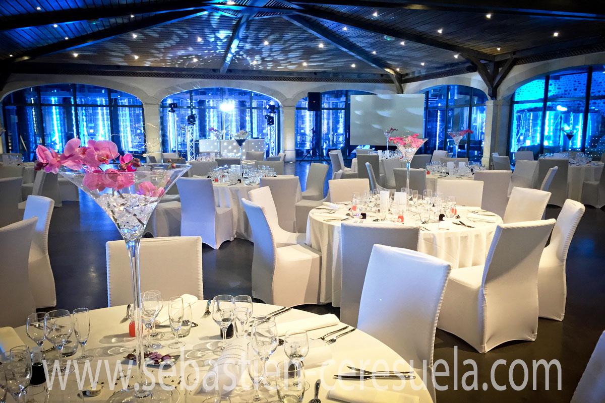 D coration lumineuse pour salle de mariage mise en lumi re for Conseiller en decoration