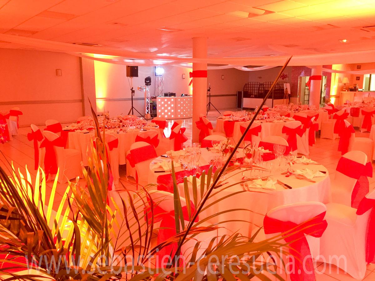 Salle de mariage - Restaurant L' Amandier à 5mn de Pau 64