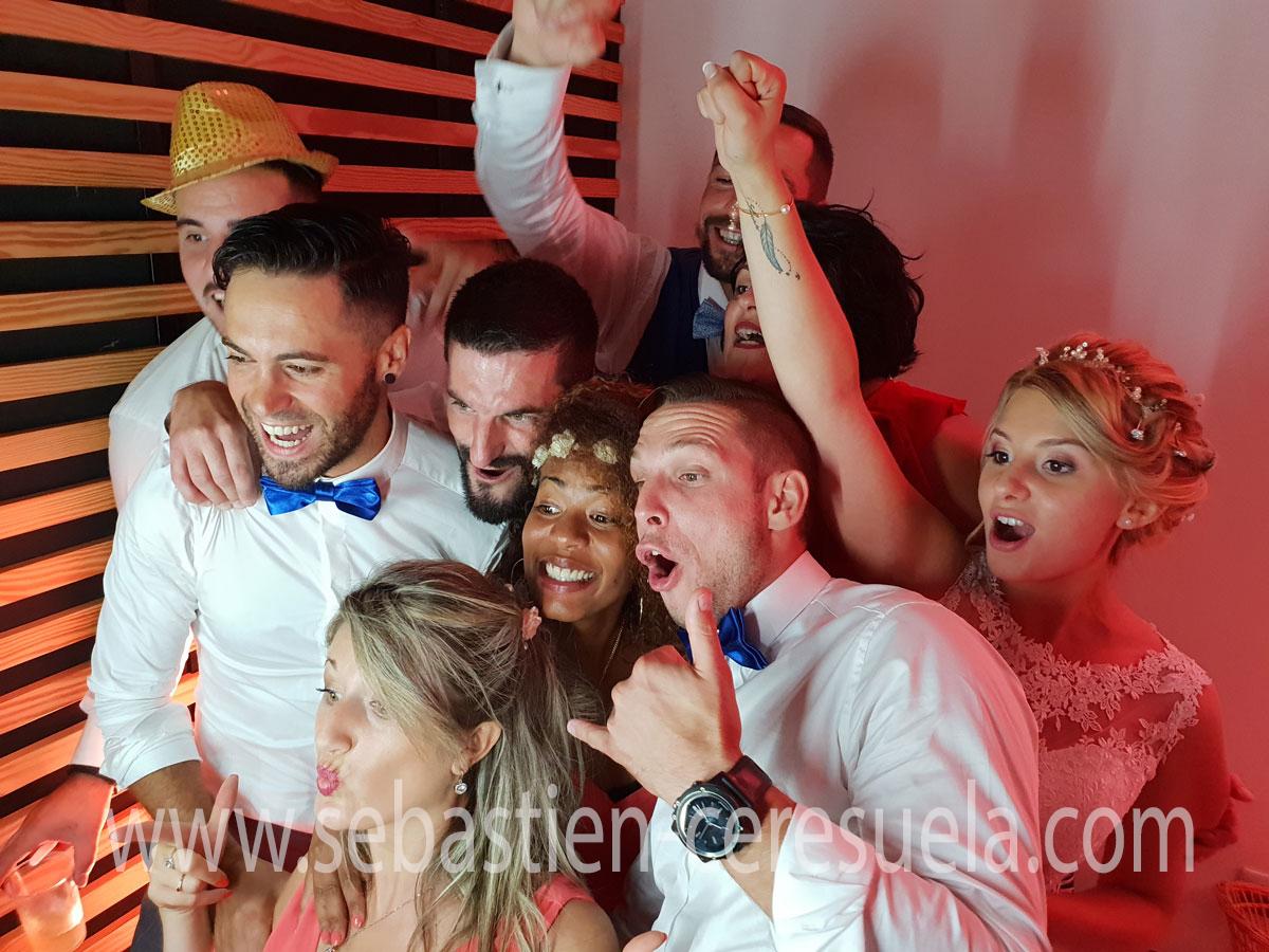 Borne selfie Pau - Photobooth mariage